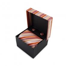 Dárkový set mikrovláknová kravata (oranžová)